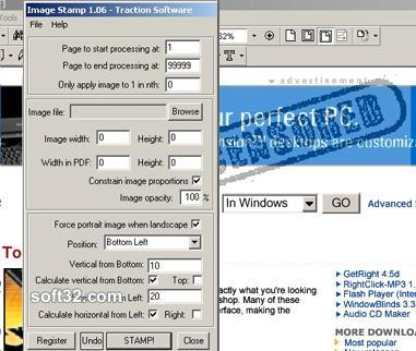 PDF Image Stamp Screenshot 3