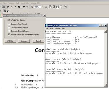 PDF Paper Stats Screenshot 1