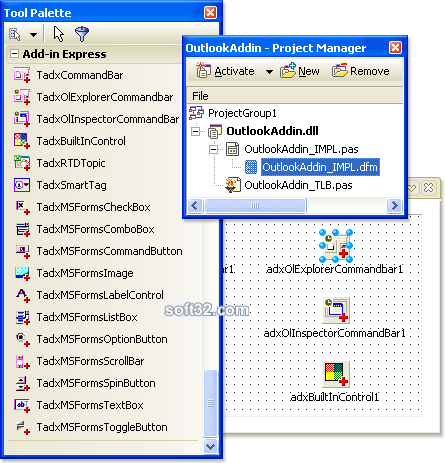Add-in Express 2008 for VCL Screenshot 3