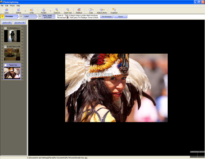 Photolightning photo software Screenshot 4