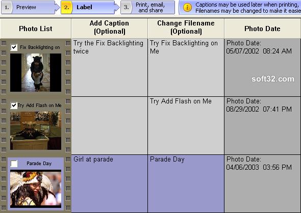 Photolightning photo software Screenshot 5