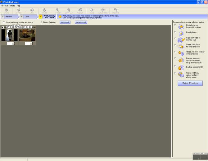 Photolightning photo software Screenshot 6