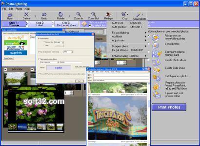 Photolightning photo software Screenshot 2