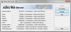 Ability Mail Server Screenshot 2
