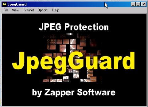 JpegGuard JPEG Image Protection Screenshot 1