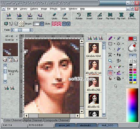 IconForge Icon Editing Tool Kit Screenshot 3