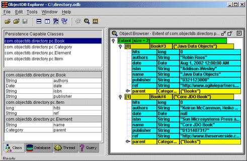 ObjectDB for Java/JDO - Free Edition Screenshot