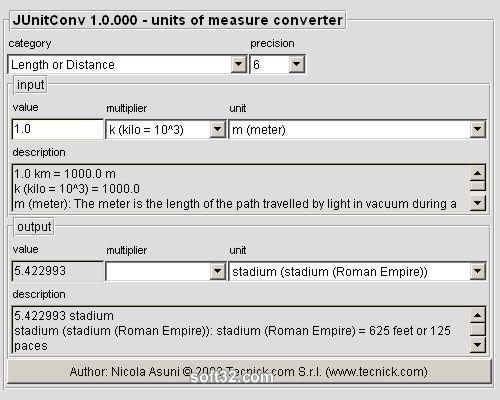 JUnitConv - Units Of Measure Converter Screenshot 2