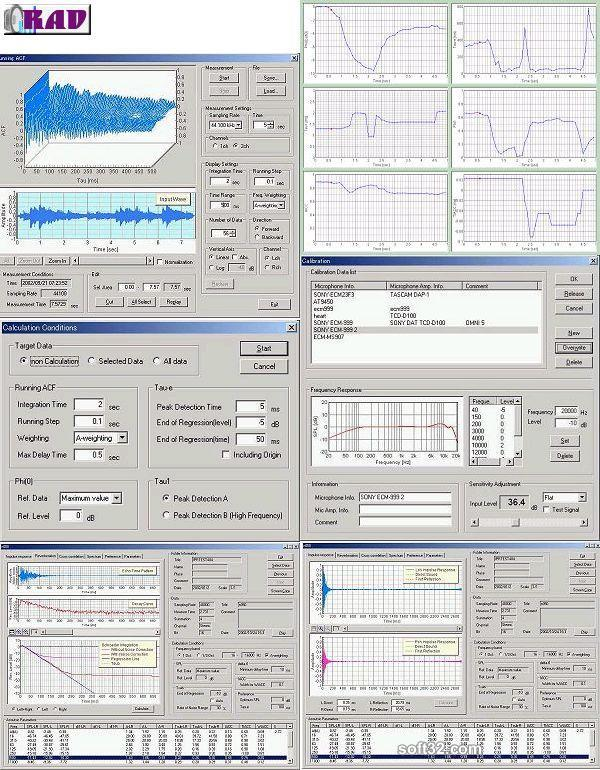 RAD / Realtime Analyzer DSS Screenshot 2