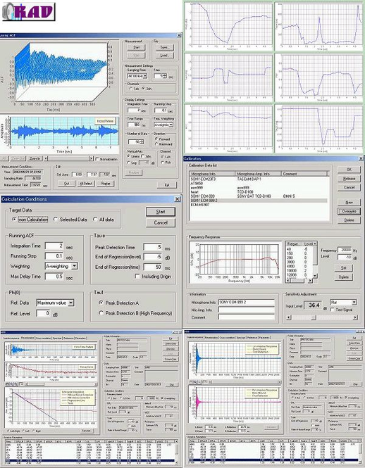 RAD / Realtime Analyzer DSS Screenshot