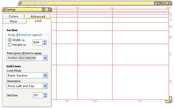 Atrise Golden Section Screenshot 2