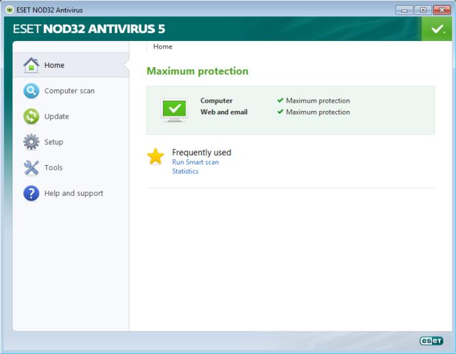 ESET NOD32 Antivirus Screenshot 2