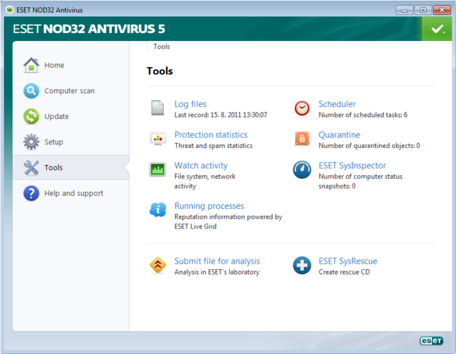 ESET NOD32 Antivirus Screenshot 5