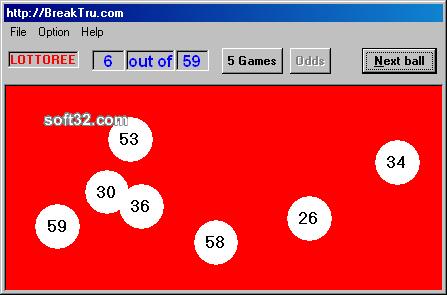 Breaktru Lottoree Screenshot 3