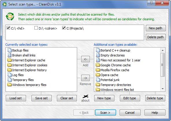 CleanDisk Screenshot 1
