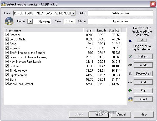 ACDR Screenshot 2