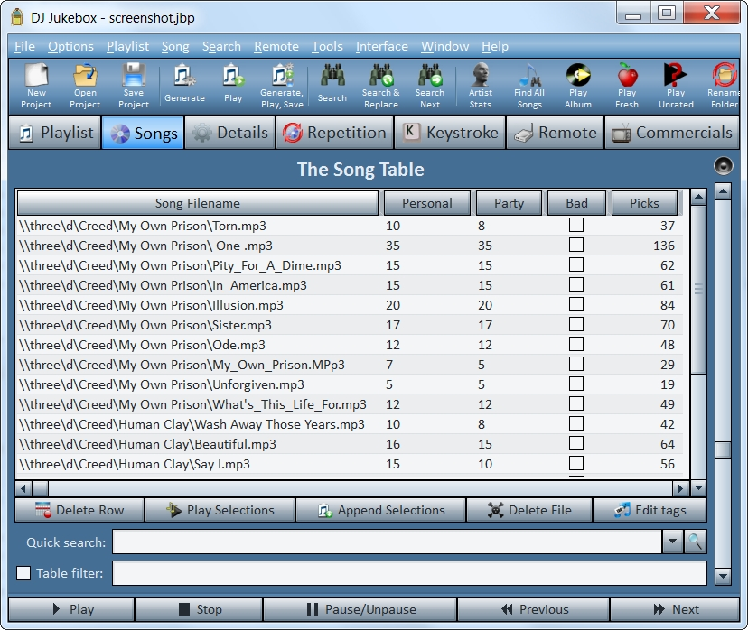 DJ Jukebox Screenshot 3