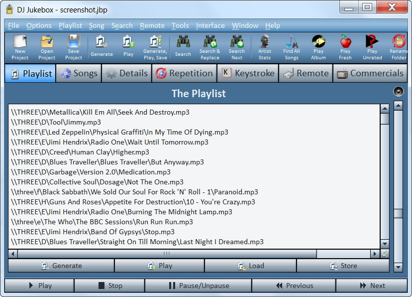 DJ Jukebox Screenshot 2