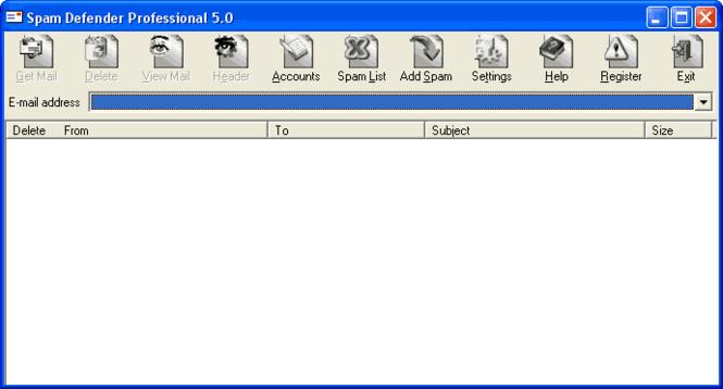 Spam Defender Professional Screenshot
