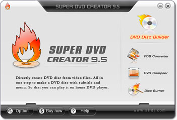 Super DVD Creator Screenshot 1