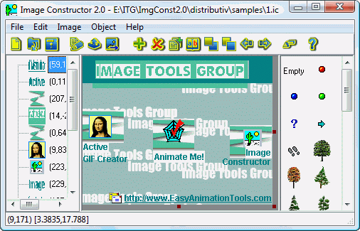 Image Constructor Screenshot 1