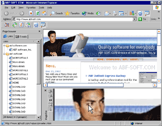 ABF Internet Explorer Tools Screenshot 1