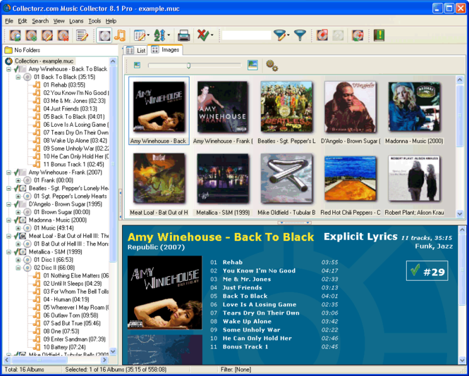 Collectorz.com Music Collector Screenshot 1