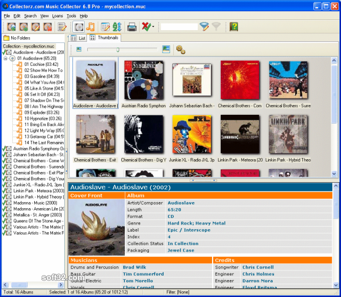 Collectorz.com Music Collector Screenshot 2
