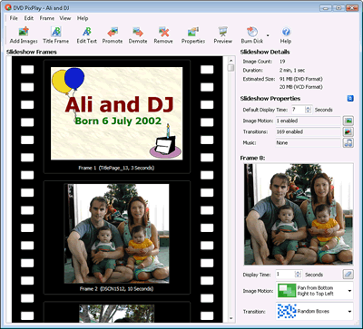 DVD PixPlay Screenshot