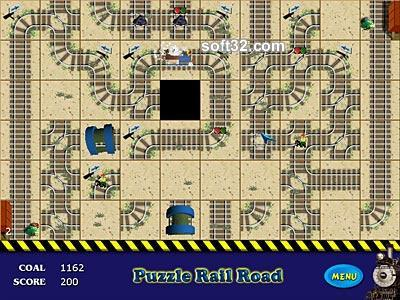 Puzzle RailRoad Screenshot