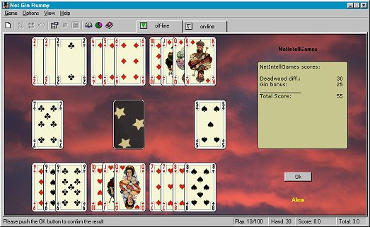 Net Gin Rummy Screenshot
