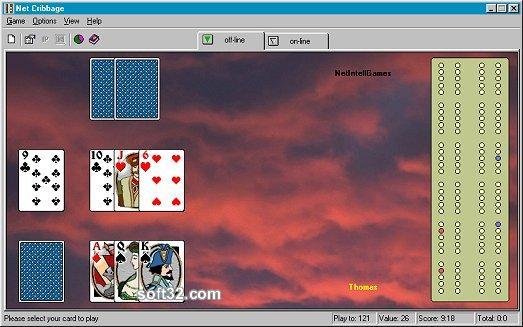 Net Cribbage Screenshot 2