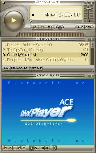 Ace DivX Player Screenshot