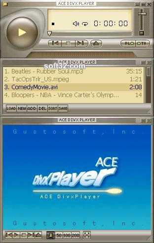 Ace DivX Player Screenshot 3