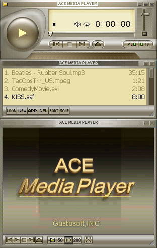 Ace Media Player Screenshot 1
