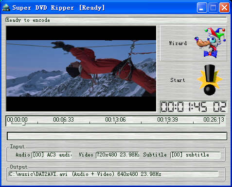 Super DVD Ripper Screenshot 1