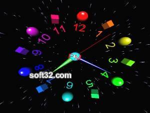3D Hand Clock Screenshot