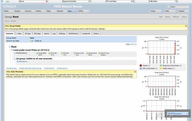 PRTG - Paessler Router Traffic Grapher Screenshot 6