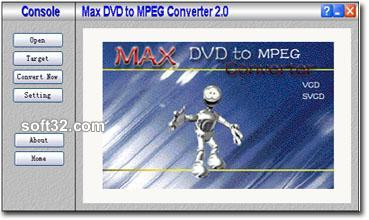 Max DVD to MPEG Converter Screenshot 3