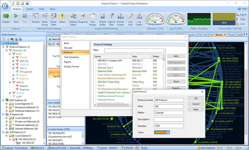 Capsa Network Analyzer Screenshot 6
