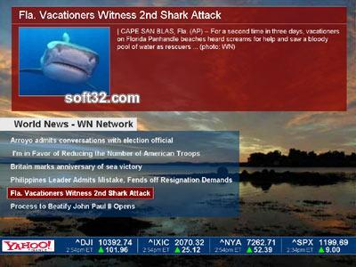 Online News Screensaver Screenshot 3