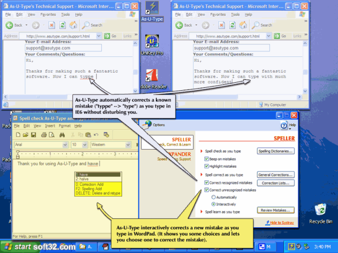 Asutype Screenshot 3