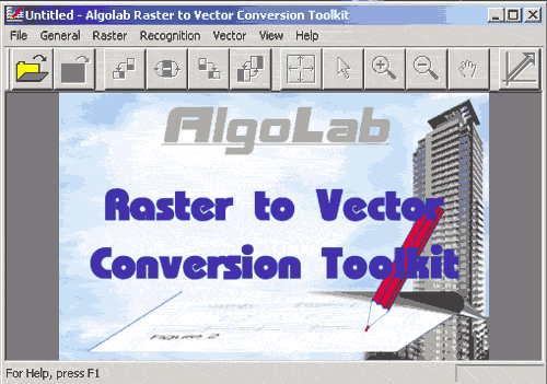 Algolab Raster to Vector Conversion Toolkit Screenshot 1
