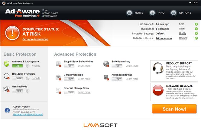 Ad-Aware Free Antivirus Screenshot 2