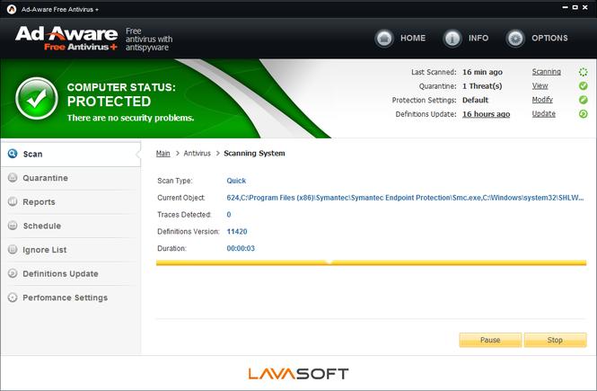Ad-Aware Free Antivirus Screenshot 5