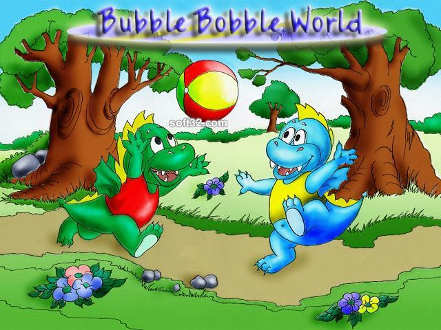 Bubble Bobble World Screenshot 2