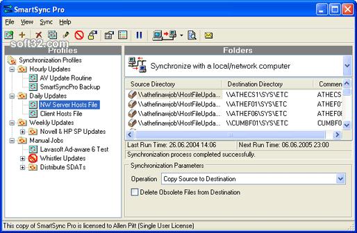 SmartSync Pro Screenshot 2