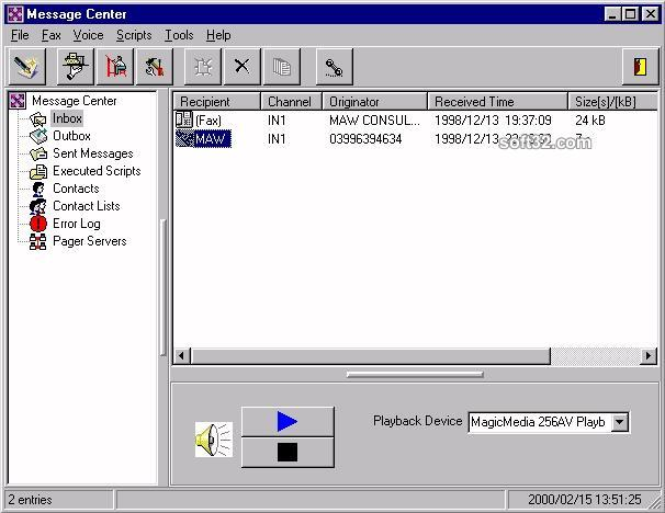 Integrated Notification System (IVR) Screenshot 2
