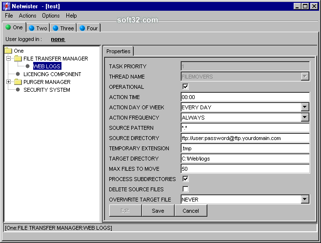 netwister Screenshot 3