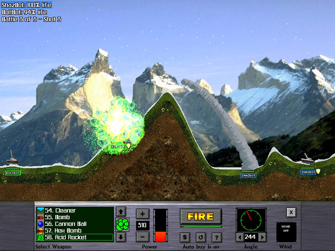 Atomic Cannon Screenshot